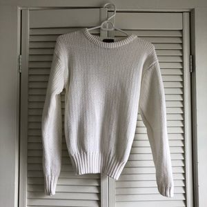 Sweaters - White vintage sweater